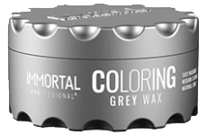 immortal professional coloring grey wax