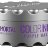 Immortal professional coloring hair wax purple