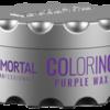 Immortal professional coloring hair wax purple