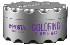 immortal professional coloring purple wax