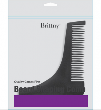 brittny black beard shaping comb