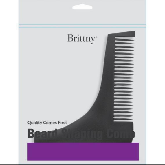 brittny black beard shaping comb