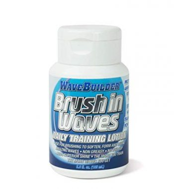 wavebuilder brush in wavs daily training lotion