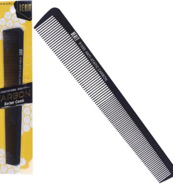 beaut anti static carbon comb 61855