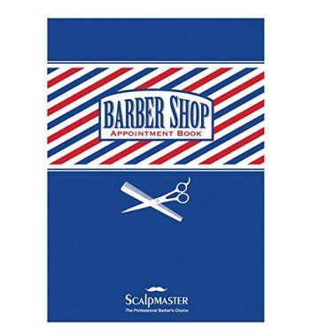 Scalp Master Barber Appointment Book