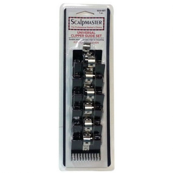scalp master universal clipper guide set 7pc