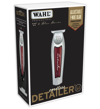 wahl detailer cordless trimmer li