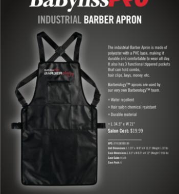 babylisspro industrial barber apron