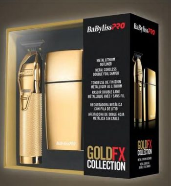 BaBylissPRO GoldFx Collection combo