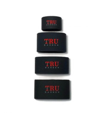 TRUBARBER Clipper Grip Bands black 4pcs