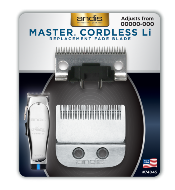 Andis Master Cordless Li Replacement Blade