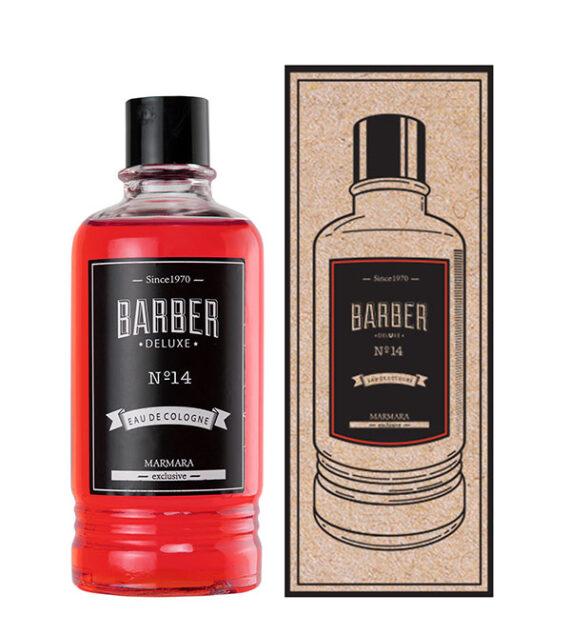 Marmara Barber Cologne Nº 14 400ml red