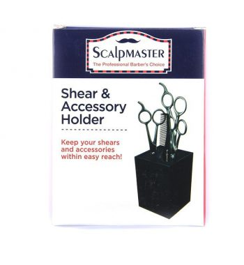 scalp master shear and accessory holder box