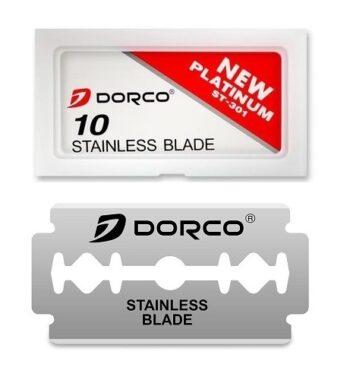 DORCO RED DOUBLE EDGE 1000 BLADES 10pk