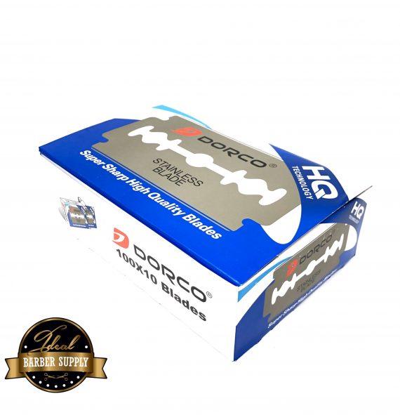 Dorco platinum blue Double Edge Razor Blades 1000 Blades 10pk