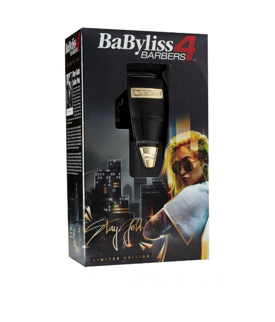 BaByliss 4 Barbers BlackFX Cordless Clipper - Limited Edition Influencer Collection - Sofie Pok FX870B