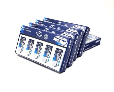 Dorco Prime Double Edge Razor Blades 500ct 5 pack