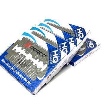 Dorco ST300 Blue Double Edge Razor Blades 500ct 5 pack