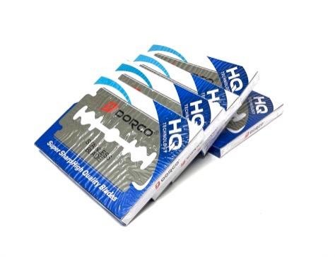 Dorco ST300 Blue Double Edge Razor Blades 500ct 5 pack