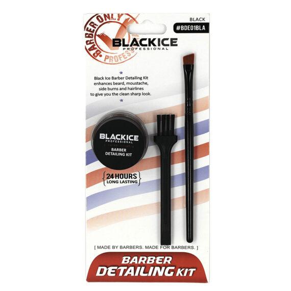 Blackice Professional Barber Detailing Kit - Charcoal Black