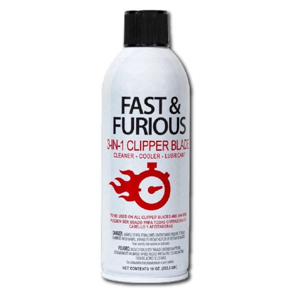 Fast & Furious 3 in 1 Clipper Blade Spray 10oz