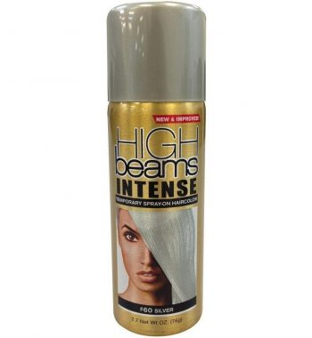 High Beams Intense Temporary Spray-On Hair Color silver #60