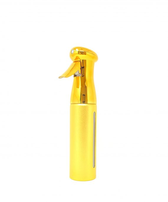 continuous spray gold mist bottle 10oz