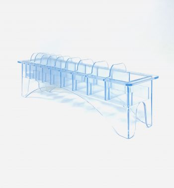 Organizer Rack Clipper guard Holder - Clear