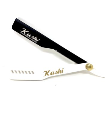 Kashi razor holder black/white slide