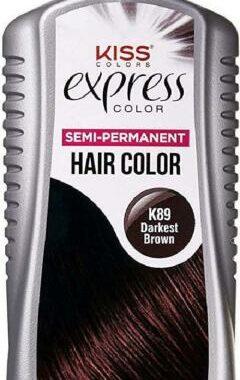 Kiss Express semi-permanent Color K89 darkest brown