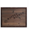 "Vincent Master travel barber Case ""wood"""