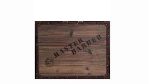 """Vincent Master travel barber Case """"wood"""""""