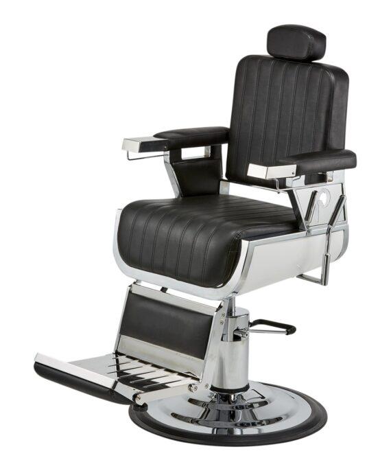 Pibbs barber chair (PIB-660) black.
