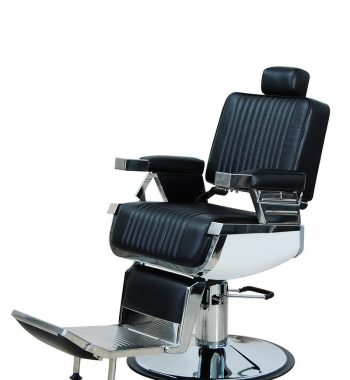 K-CONCEPT Lincoln Barber Chair - Black #OZBC20
