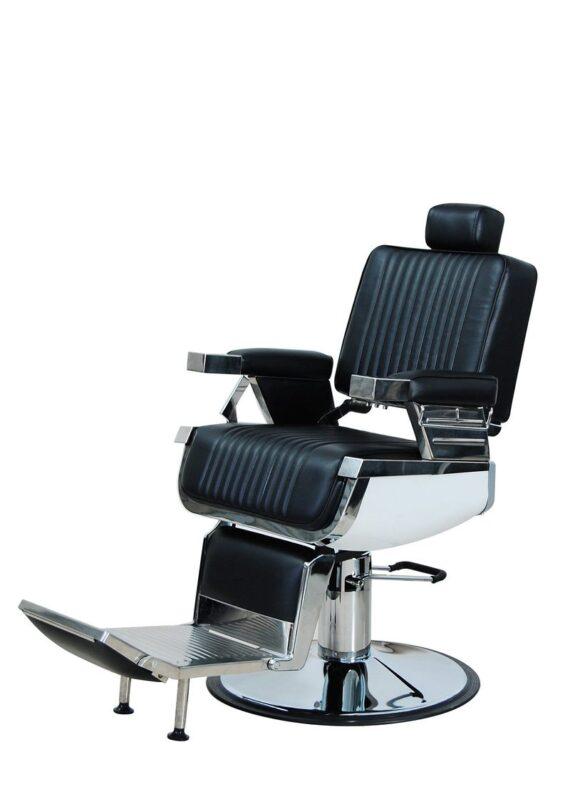 K-CONCEPT Lincoln Barber Chair - Black #OZBC20