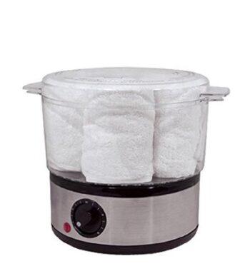 Fanta Sea Towel Steamer Includes 6 Soft Terry Cloth Towels