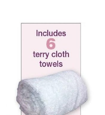 Fanta Sea Towel Steamer Includes 6 Soft Terry Cloth Towels