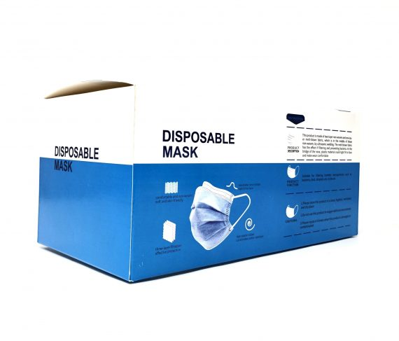 3 Layer Disposable Face Mask - 25 pack