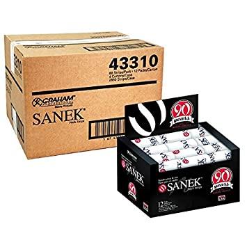 Sanek Neck Strips - 2,880 Strips (720 Strips X 4 Box)