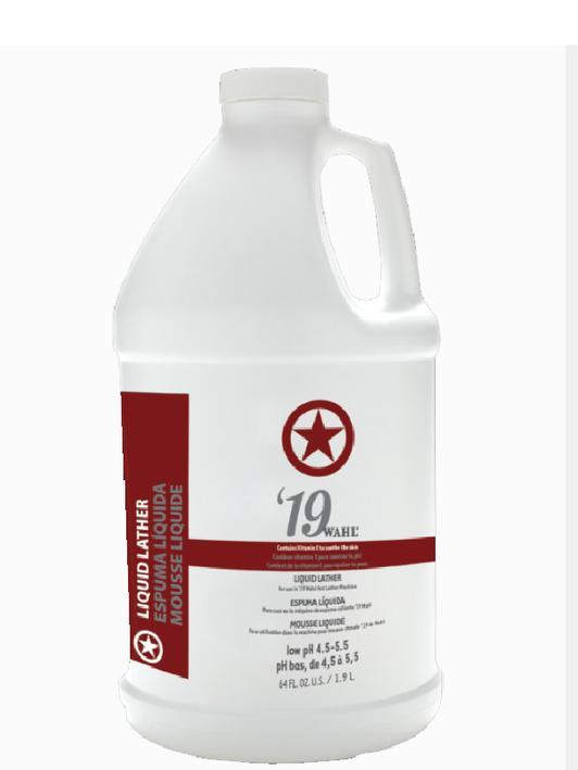 Wahl premixed Liquid Lather 19' 64oz