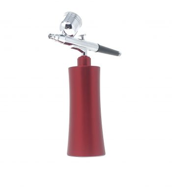 Cordless Airbrush System Compressor red