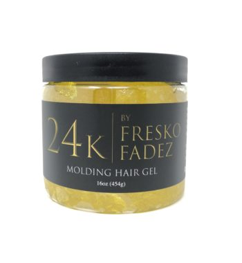 24K molding hair gel 16oz by FreskoFades