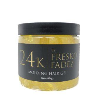 24K molding hair gel 16oz by FreskoFades