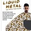 symphony liquid metal white cape