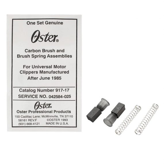 oster carbon brush and brush spring assemblies- classic 76