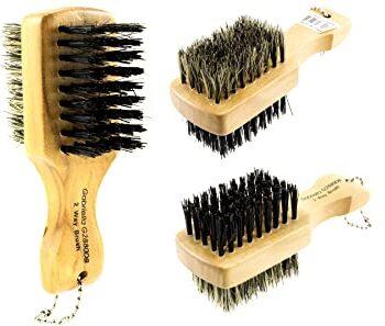Mini double sided soft/hard brush