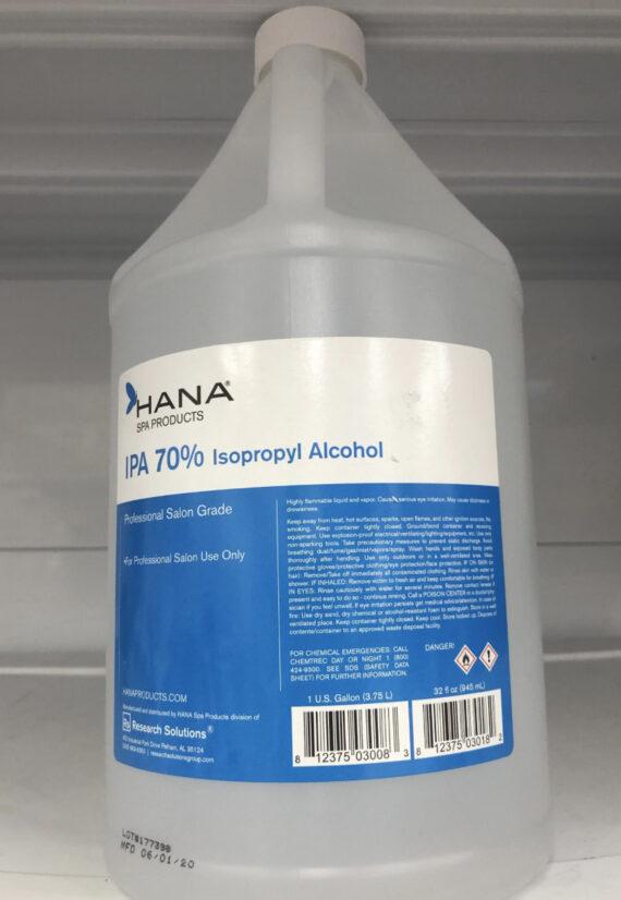 isopropyl alcohol gallon 70% none scented