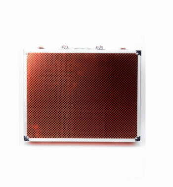 Vincent Premium Medium Master Case - Red #VT10144-RD