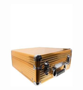 Vincent Premium Medium Master Case - Gold #VT10144-GD