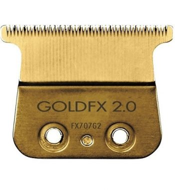 BaByliss Gold FX Titanium Trimmer Blade - Deep Tooth (FX707G2)